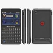 Motorola Motokey Social 3d model