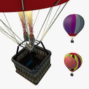 Globo aerostático modelo 3d