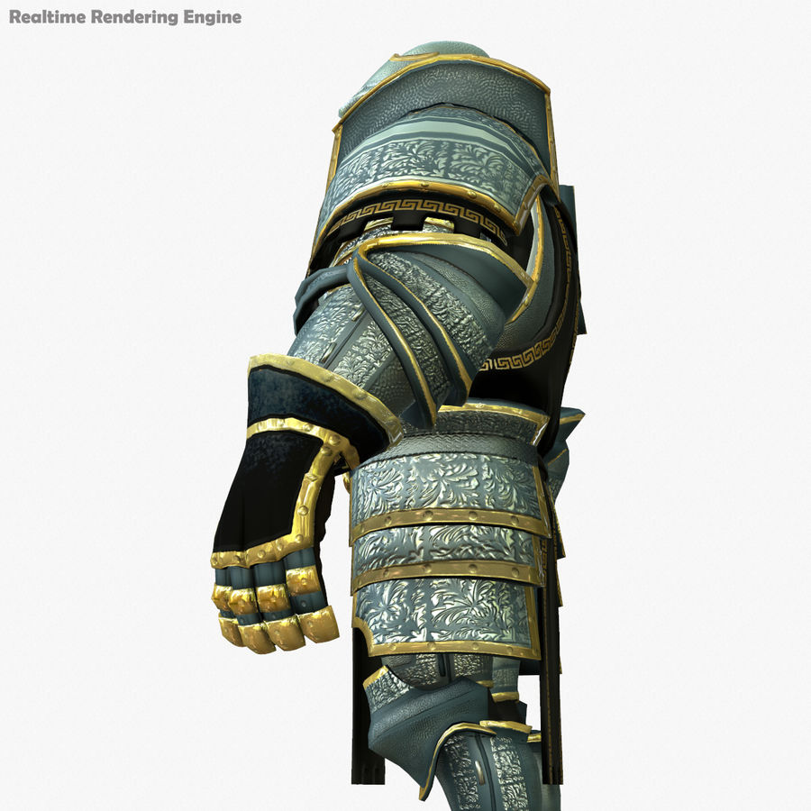Game Knights (Series A) K1a royalty-free 3d model - Preview no. 6