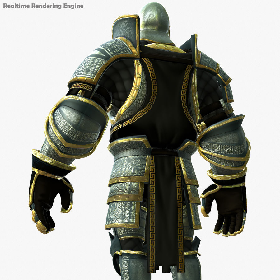 Game Knights (Series A) K1a royalty-free 3d model - Preview no. 5