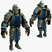 Game Knights (Series A) K1c 3d model