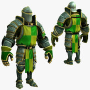 Game Knights (Series A) K1d 3d model