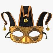 Joker Masquerade Mask 3d model