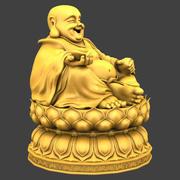 Maitreya Buddha 3d model