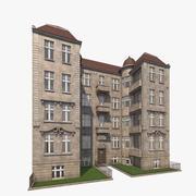 柏林公寓Theodorstrasse 3(室内/室外) 3d model