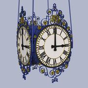 ブライトン駅の時計 3d model