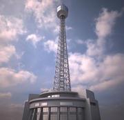 Torre marina de Yokohama modelo 3d