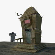 Small Horror House 3d model