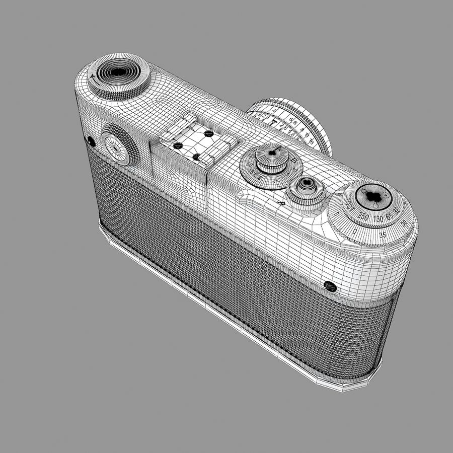 Vintage Camera royalty-free 3d model - Preview no. 7