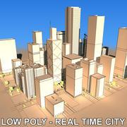 City block B 3d model
