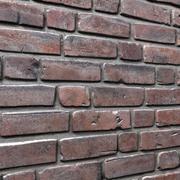 Bricks wall #01 3d model