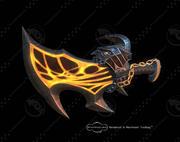 Blade of Exile 3d model