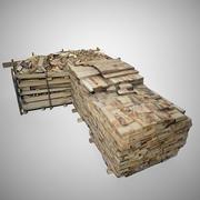 Odun Yığını 3d model
