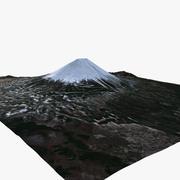 Mount Fuji Update 20 x 23 kmsq 3d model