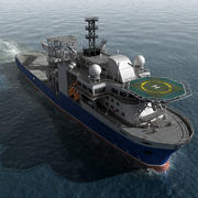 多目的支援船 3d model