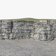 崖の顔 3d model