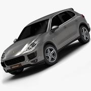 2015 Porsche Cayenne Diesel (Low Interior) 3d model