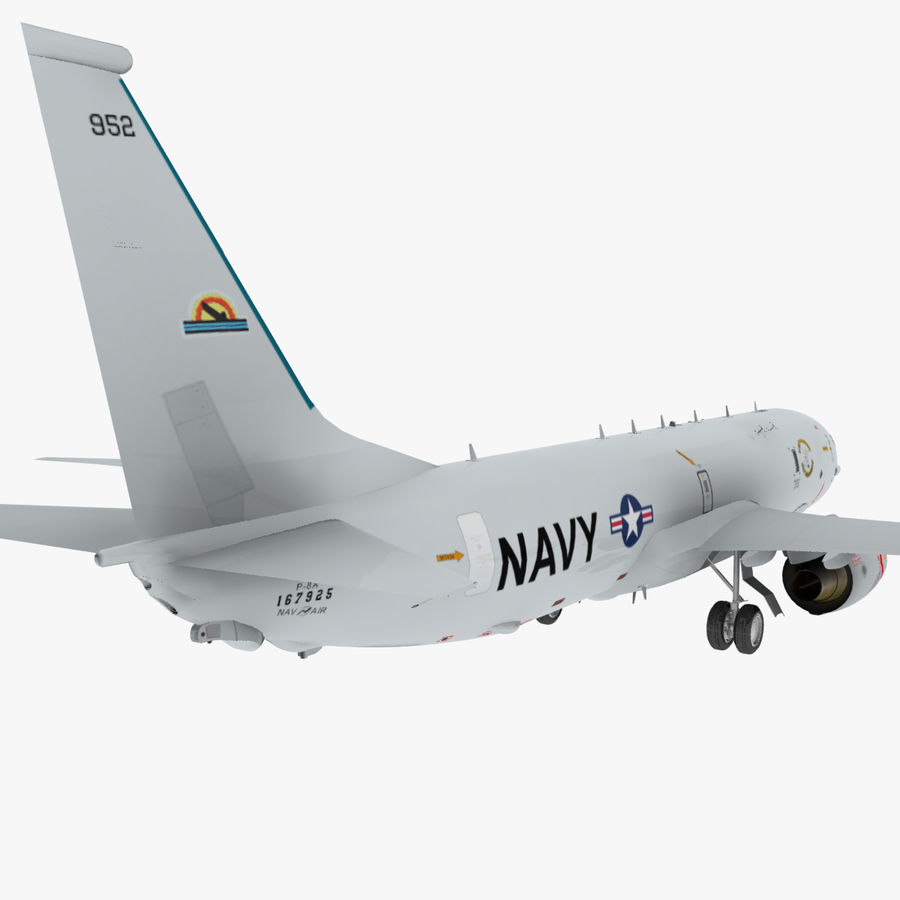 Poseidon P8A royalty-free 3d model - Preview no. 8