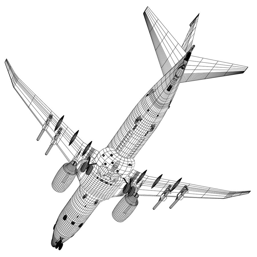 Poseidon P8A royalty-free 3d model - Preview no. 11