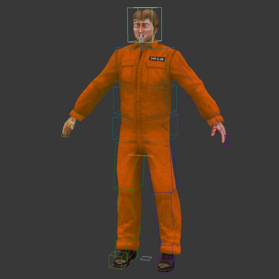prigioniero royalty-free 3d model - Preview no. 5