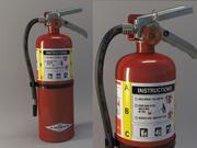 Extinguisher Amerex 3d model