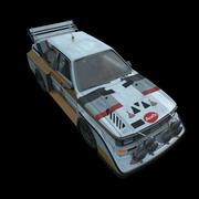 Audi Quattro 3d model