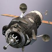 Soyuz Orbiter (High Poly) 3d model