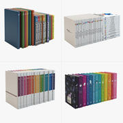 Books Children Collection 3d model
