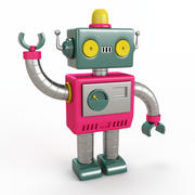 Robot Toy Fu 3d model