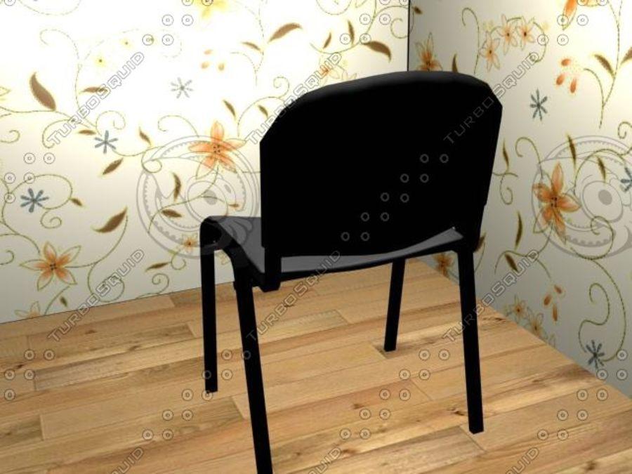 办公椅1 royalty-free 3d model - Preview no. 5