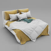 Bed collection 27 3d model