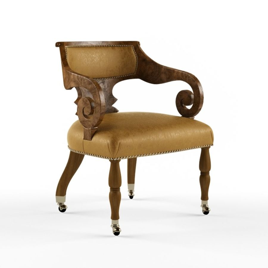 Century Furniture Chair royalty-free 3d model - Preview no. 1