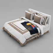 Bed collection 29 3d model