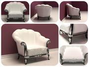 Klassieke stoel 3d model