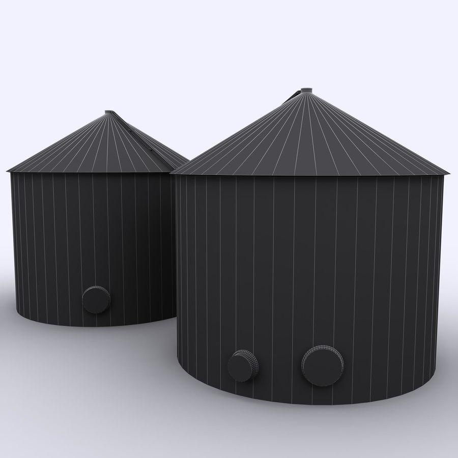 유조선 royalty-free 3d model - Preview no. 7