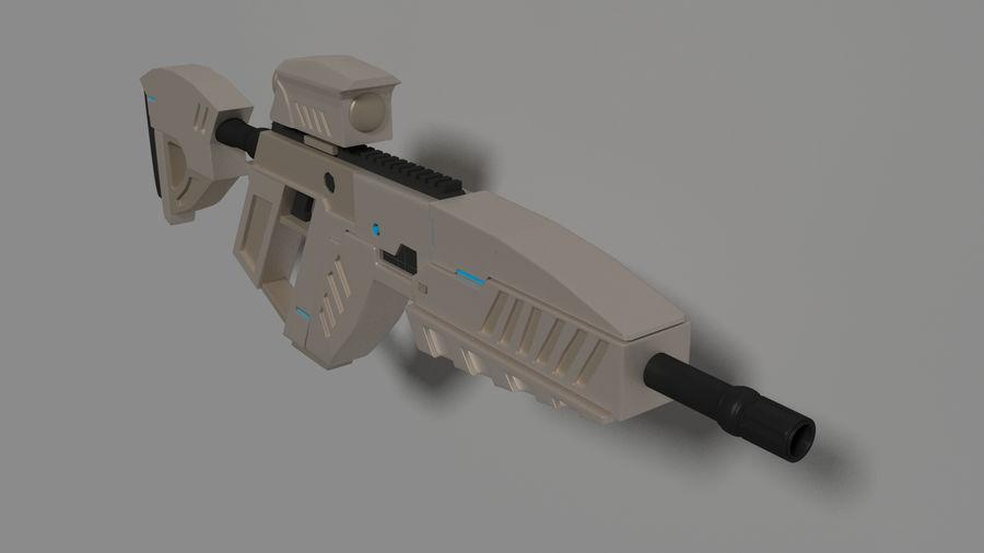 vapen royalty-free 3d model - Preview no. 2