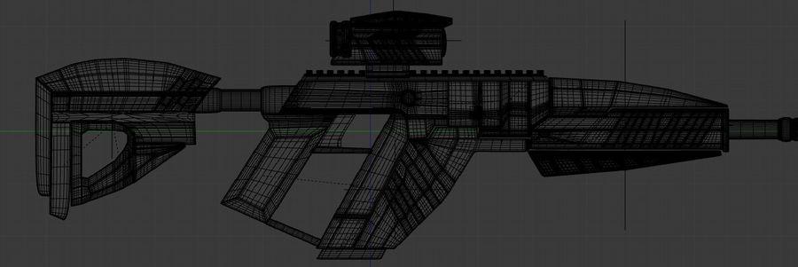 vapen royalty-free 3d model - Preview no. 4