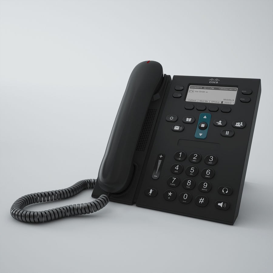 Telefone Cisco CP6941 royalty-free 3d model - Preview no. 1