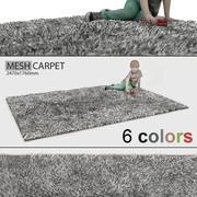 地毯毛茸茸 3d model