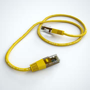 Cable de ethernet modelo 3d