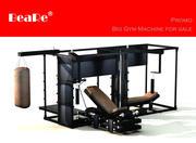 큰 체육관 기계 3d model