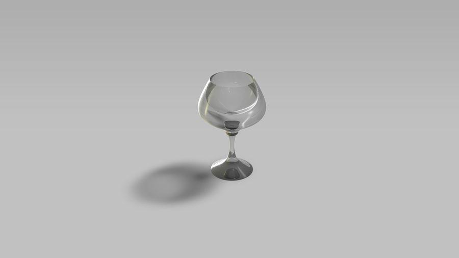Brandy Glass royalty-free 3d model - Preview no. 5