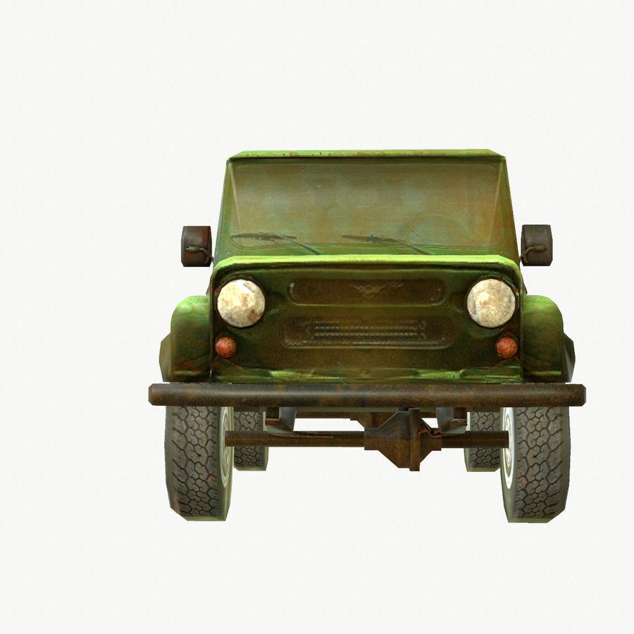 Rus SUV Düşük Poli royalty-free 3d model - Preview no. 5