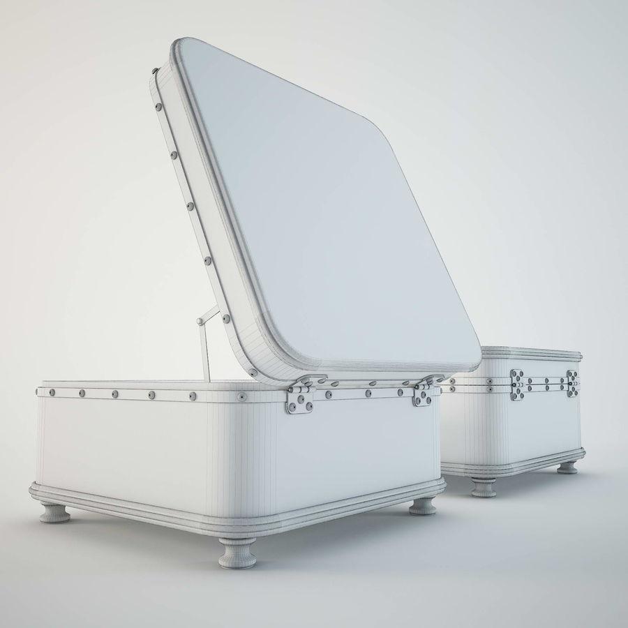 Szafka w formie walizki royalty-free 3d model - Preview no. 7