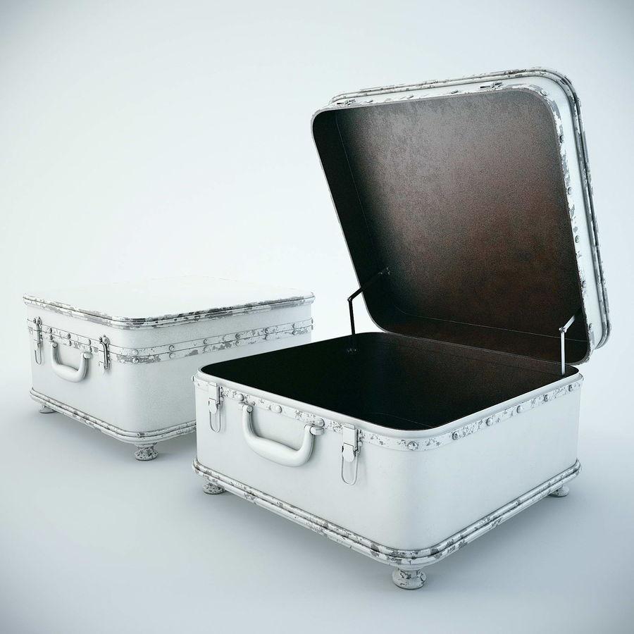 Szafka w formie walizki royalty-free 3d model - Preview no. 4