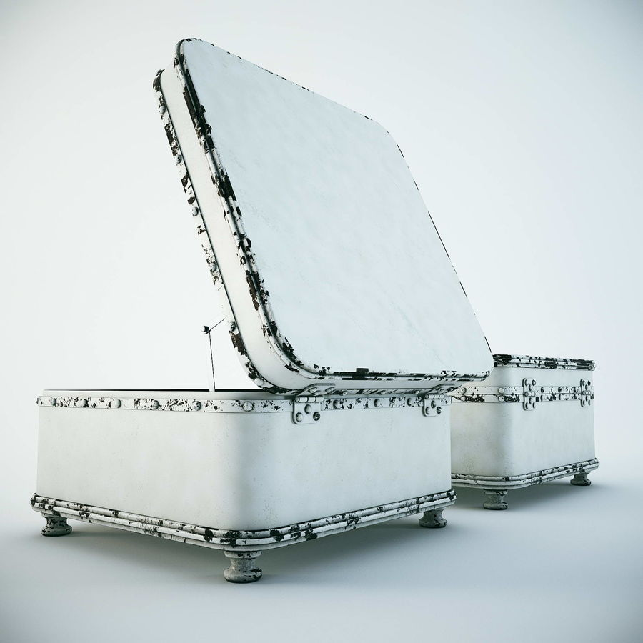 Szafka w formie walizki royalty-free 3d model - Preview no. 6