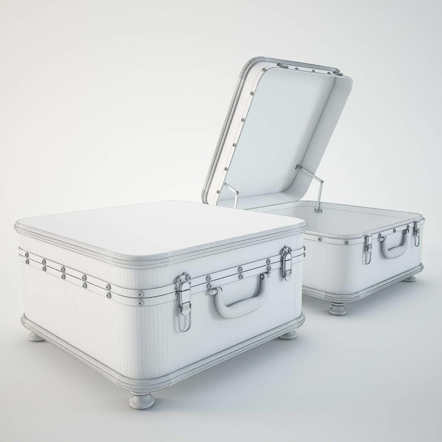 Szafka w formie walizki royalty-free 3d model - Preview no. 11