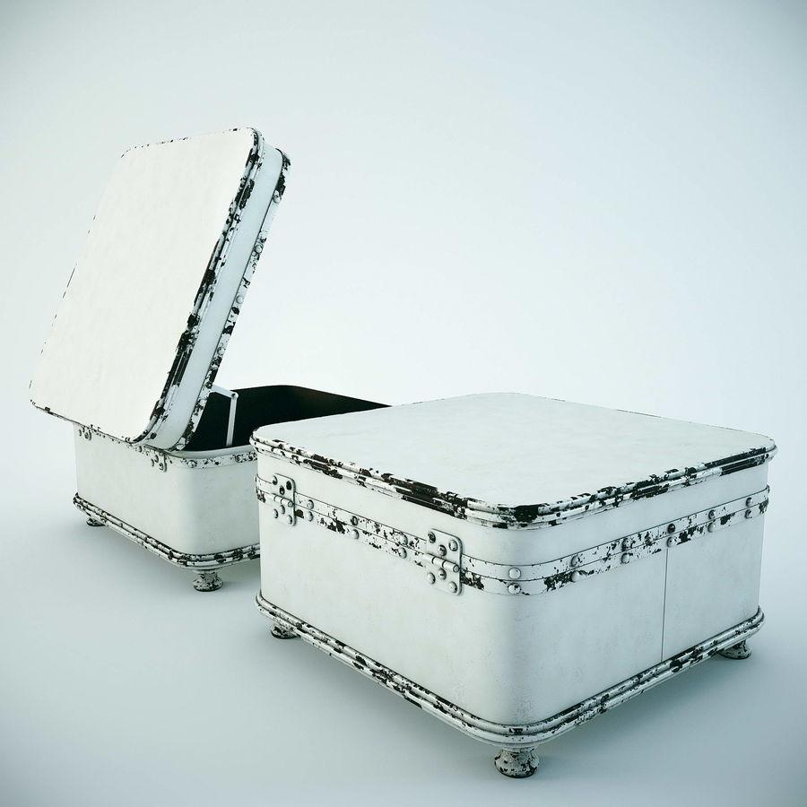Szafka w formie walizki royalty-free 3d model - Preview no. 5