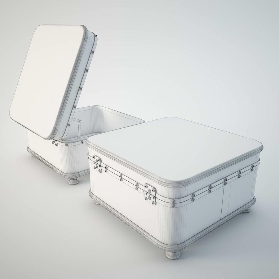 Szafka w formie walizki royalty-free 3d model - Preview no. 8