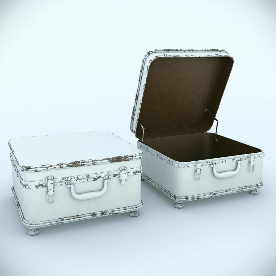 Szafka w formie walizki royalty-free 3d model - Preview no. 2